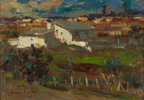 Adriaan Boshoff; Rural Landscape (Township)