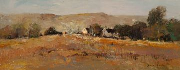 Errol Boyley; Landscape with Farmstead