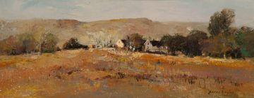 Errol Boyley; Landscape with Farmstead