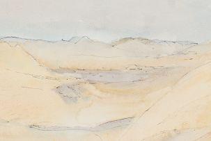 Maud Sumner; Namib Desert Scene