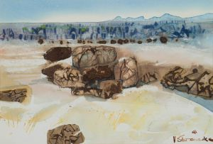 Ulrich Schwanecke; Rocky Landscape