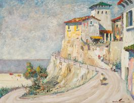 Cecil Rochfort D'Oyly-John; Bodegliera (sic) (Bordighera) Tower, South Italy