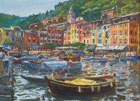 Gerhard Batha; Portofino Evening