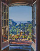 Gerhard Batha; The Terrace, Morning