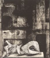 Henry Moore; Reclining Nude