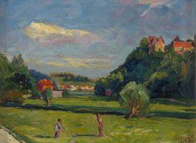 Ernst Samuel Geiger; Landscape