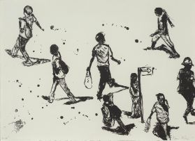 Nelson Makamo; People in the Street