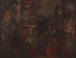 John Henry Amshewitz; Masquerade