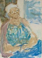Marjorie Wallace; Seated Woman