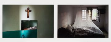 Guy Tillim; Leopold & Mobutu: Accommodation at the Mission Station and A Hotel Bed at Goma
