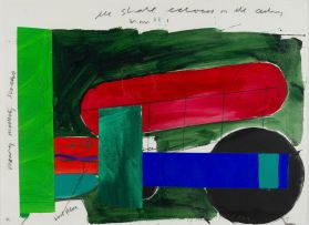 Bruce McLean; Abstract Composition