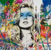 Mr Brainwash; Kate Moss