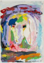 Menashe Kadishman; Sheep's Head