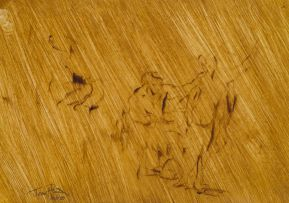 Johannes Phokela; Figure Study