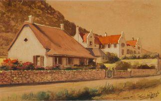 Tinus de Jongh; Rhodes Cottage, Muizenberg, Cape