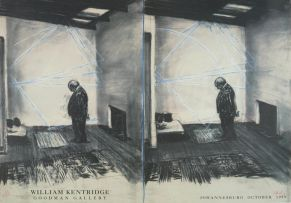 William Kentridge; William Kentridge, Goodman Gallery, Johannesburg, October 1999, exhibition poster