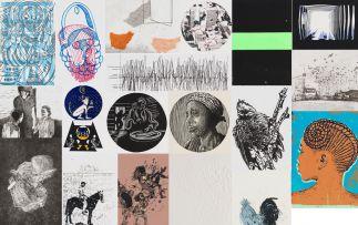 Various Artists; Colour Line, portfolio