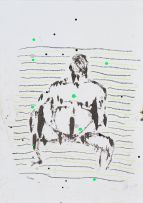 MJ Turpin; Seated Man, III