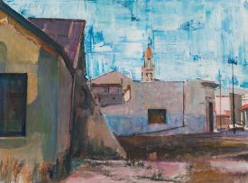 Sidney Goldblatt; Street Scene, District Six