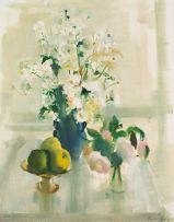 Louis van Heerden; Still Life with Apples