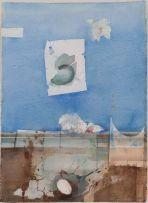 Louis van Heerden; Abstract Composition with an Egg