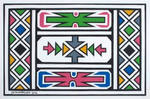 Esther Mahlangu; Abstract