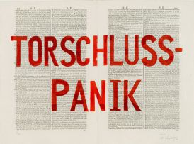William Kentridge; Torschluss-Panik