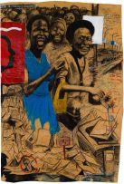 Nelson Makamo; The Blue Dress