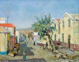 Gregoire Boonzaier; Wale Street, Bo-Kaap