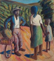 Gerard Sekoto; The Visitor, Eastwood