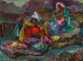 Cecil Higgs; Washer Women