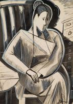 Eugene Labuschagne; Cubist Woman