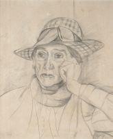Edward Wolfe; Portrait of Mrs Henderson