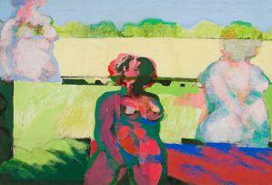 Jan Neethling; Landscape Through Nudes