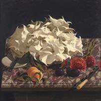 Neil Rodger; Still Life with Moonflowers