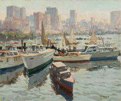 Max Boullé; View of Durban Yacht Club