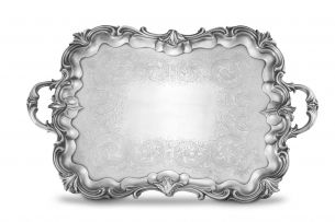 An early Victorian silver two-handled tray, The Barnards, London, 1840