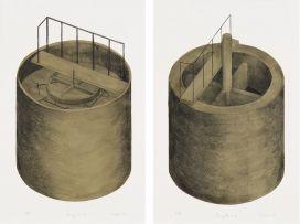 Jeremy Wafer; Slurry Tank I; Slurry Tank II, two