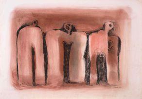Cecil Skotnes; Three Figures