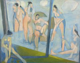 Stanley Pinker; The Bathers