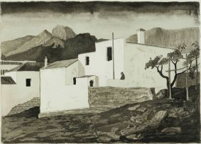 Fred Page; Malay Quarters, Cape Town