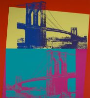 Andy Warhol; Brooklyn Bridge