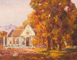 Edward Roworth; Autumn at Morgenster, Somerset West
