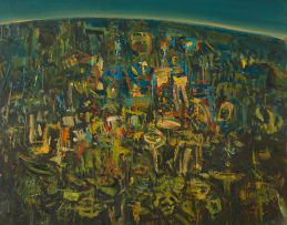 Hermann Niebuhr; Abstract Landscape