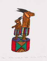 Zenzane Mazibuko; Izimbuzi Ezimbili Nezi Khethi (Two Goats in Skirts)