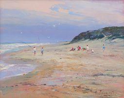 Christopher Tugwell; Beach Scene