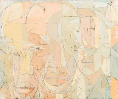 Kagiso Patrick Mautloa; Row of Faces