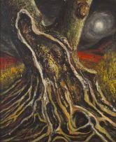 Albert Newall; Tree Trunk
