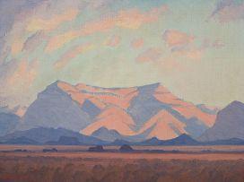 Jacob Hendrik Pierneef; Evening Glow (Aandgloed)