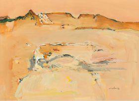 Nico Roos; Desert Landscape